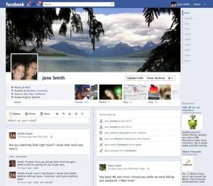 La future page Journal de Facebook