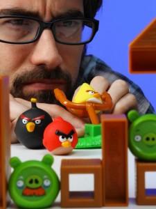 Le jeu de société Angry Birds