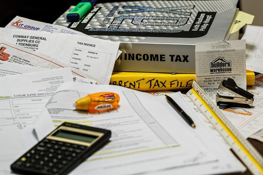 travail compliqué et stress de comptabilité