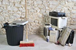 Les déchets liés à l'informatique