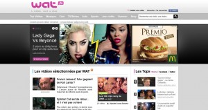 Une page Wat TV