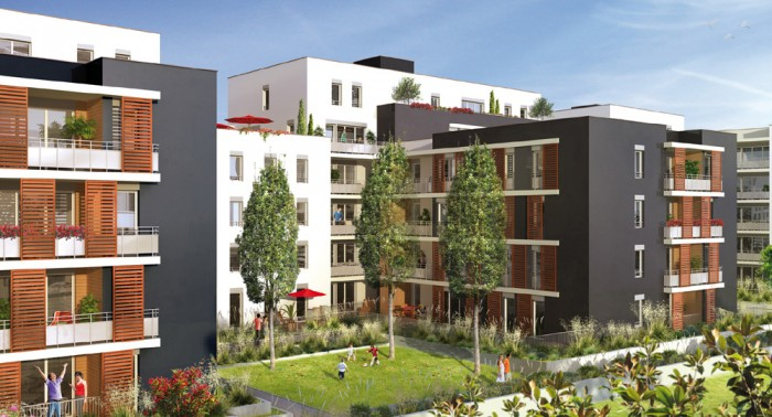résidence neuve 9 Town à lyon Vaise par le promoteur immobilier Noaho